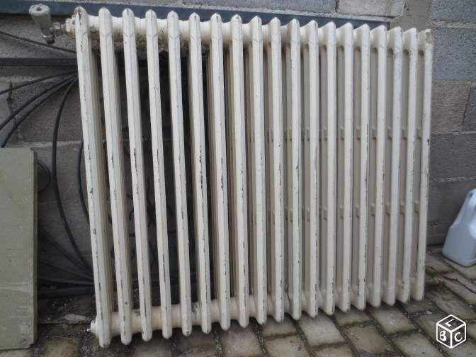 radiateur fonte pour chaudi re bricolage h rault chauffage chemin e po le. Black Bedroom Furniture Sets. Home Design Ideas