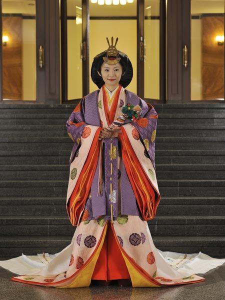 Wedding ceremony,  jūni-hitoe