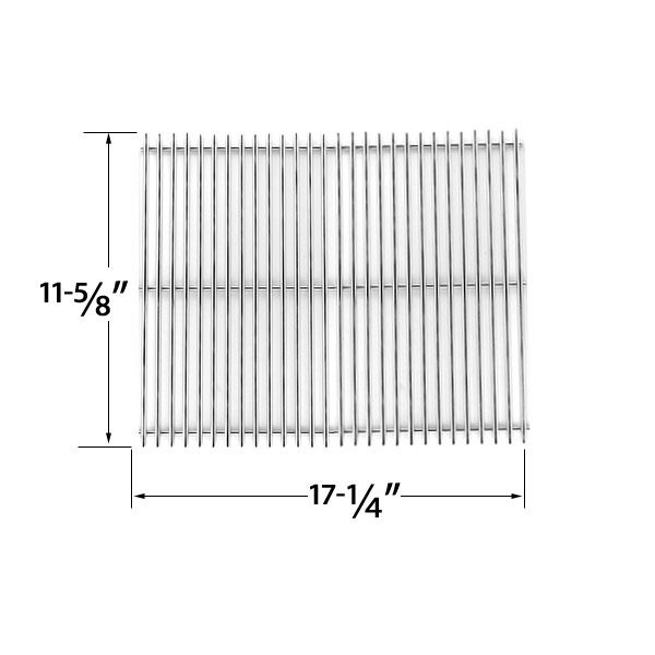 STAINLESS STEEL COOKING GRID REPLACEMENT FOR CHARBROIL GG6621C, GG6625C, GG6628C, GG6630, GG691-C, GG694-C, GG694CTC, GG697-C, GG733, GG808, GG831 GAS GRILL MODELS  Fits Charbroil Models : GG6621C, GG6625C, GG6628C, GG6630, GG691-C, GG694-C, GG694CTC, GG697-C, GG733, GG808, GG831  BUY NOW @ http://grillrepairparts.com/shop/grill-parts/stainless-steel-cooking-grid-replacement-for-charboil-gg6621c-gg6625c-gg6628c-gg6630-gg691-c-gg694-c-gg694ctc-gg697-c-gg733-gg808-gg831-gas-grill-models/