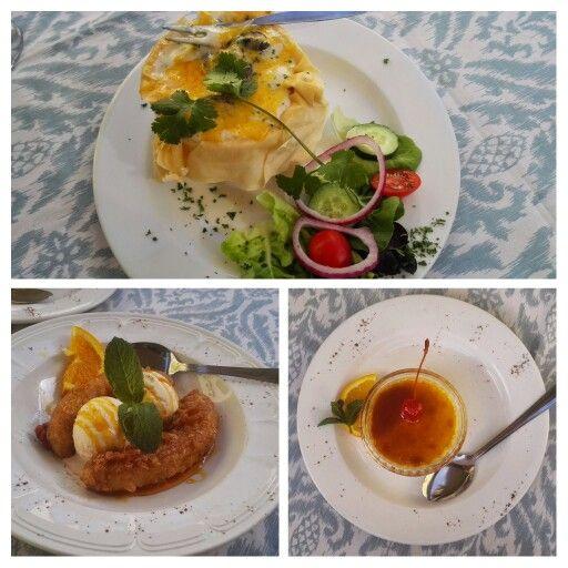 Snails and dessert Dutch style