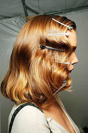Vintage hair hair-makeup .....hum I wonder where they're going w/ this - i'll have to ck the link