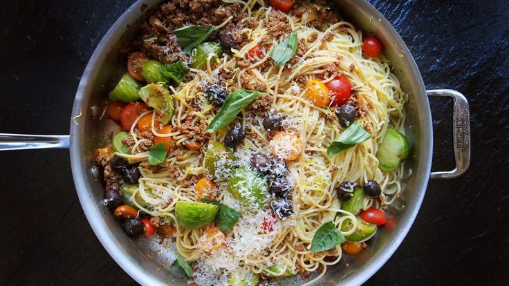 40 Essential Pasta Recipes for Olive-Oiled, Red-Sauced Happiness