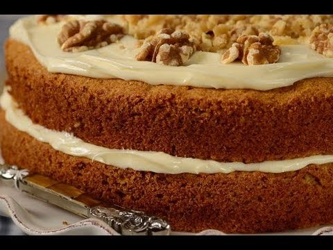 Carrot Cake Recipe Demonstration - It's the only kind of cake worth making... well and cheese cake but that's not really cake is it?