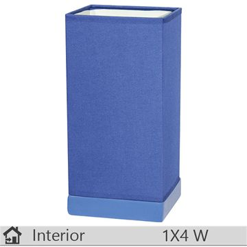 Veioza iluminat decorativ interior Klausen, gama Kevin, model Albastru