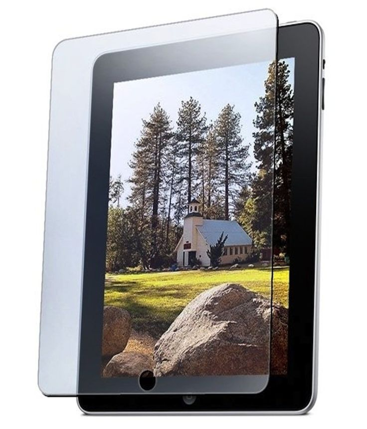 2010kharido AE Matte Finish Anti-Glare Screen Protector Scratch Guard for Apple iPad 1 2