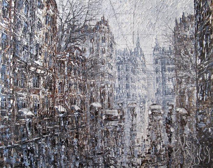 картины с дождем - 10