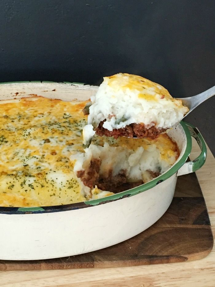 There is nothing better than putting a warm, meal on the table for family dinner. This Shepherd's Pie is the ultimate comfort food!