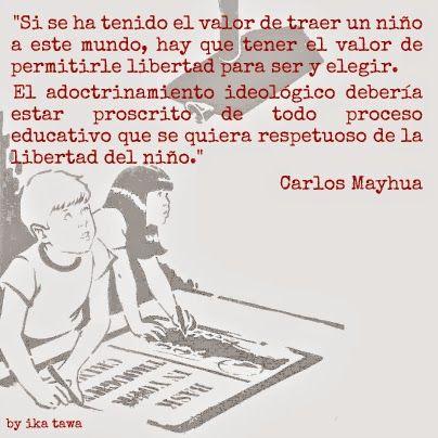 una de los antiguos niños: adoctrinamiento [Carlos Mayhua]
