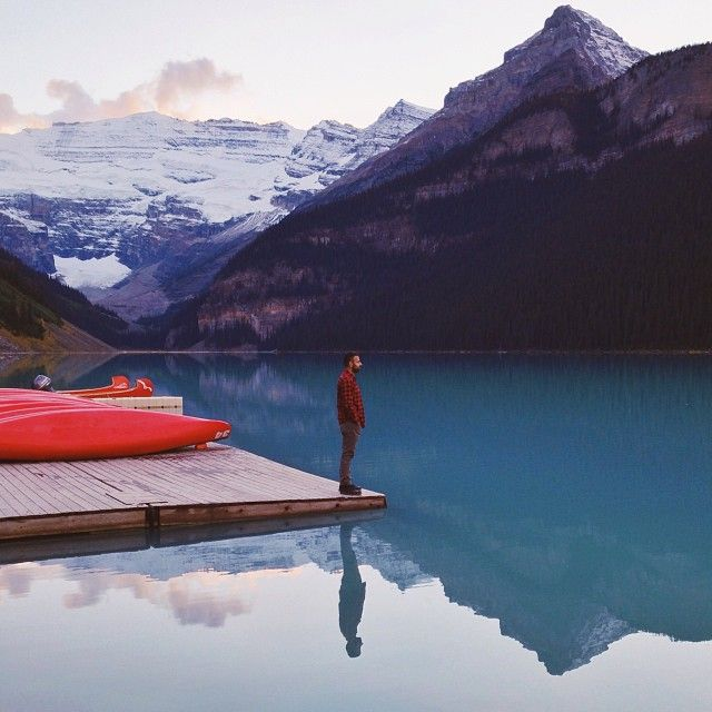 Lake Louise, Canada // instagram photo from @B Archer