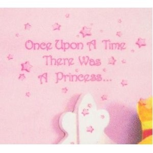Main Street Wall Creations Sticker   Once Upon A Time There Was A Princess.