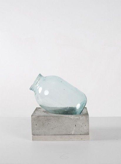 This concrete vase is so unique. I love it.