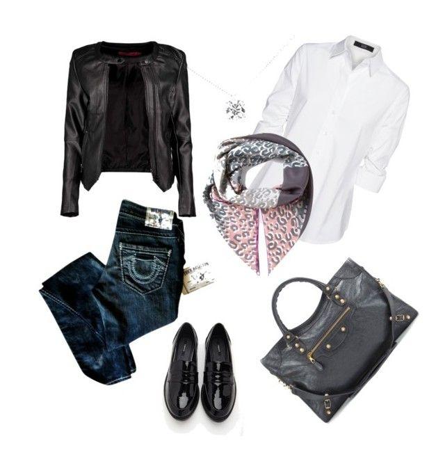 """Senza titolo #8"" by alixist-1 on Polyvore featuring moda, Boohoo, Steffen Schraut, True Religion, Louis Vuitton, Tiffany & Co., Forever 21 e Balenciaga"