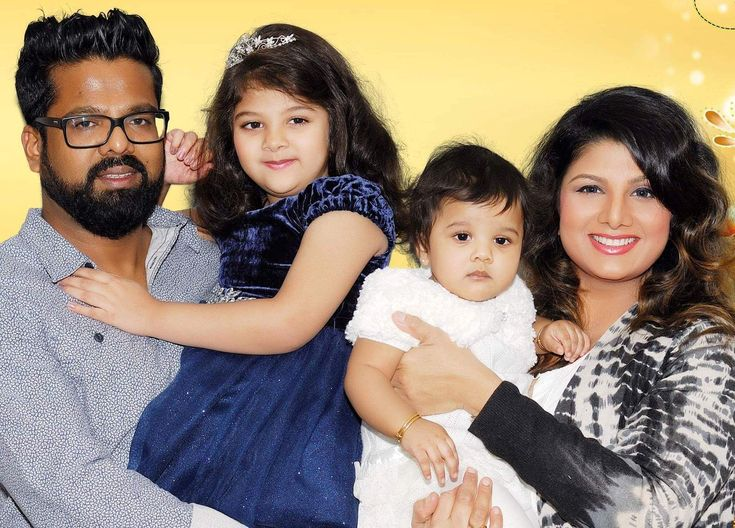 Actress Rambha with Daughters #livedaytamilnadu