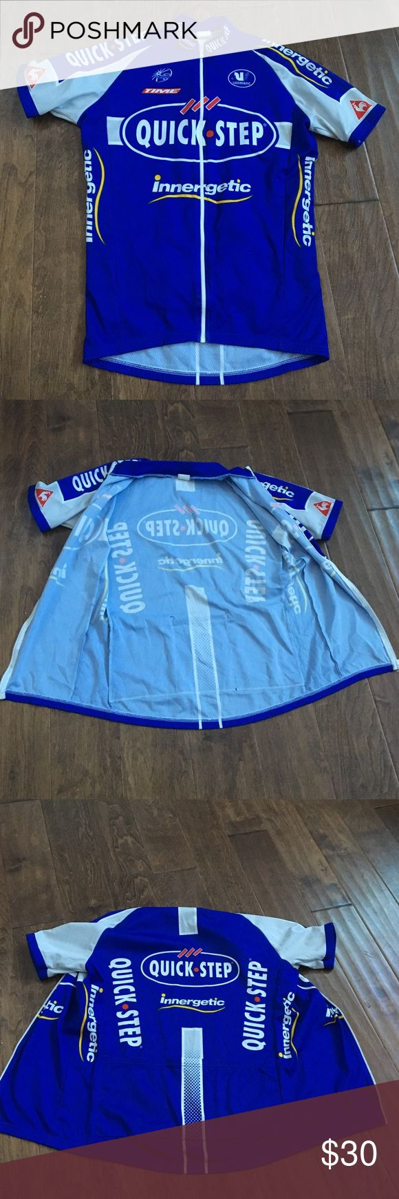 Men's pro cycling jersey M Men's  pro cycling jersey size M in perfect shape, made in Italy. Super comfortable. Shirts Tees - Short Sleeve
