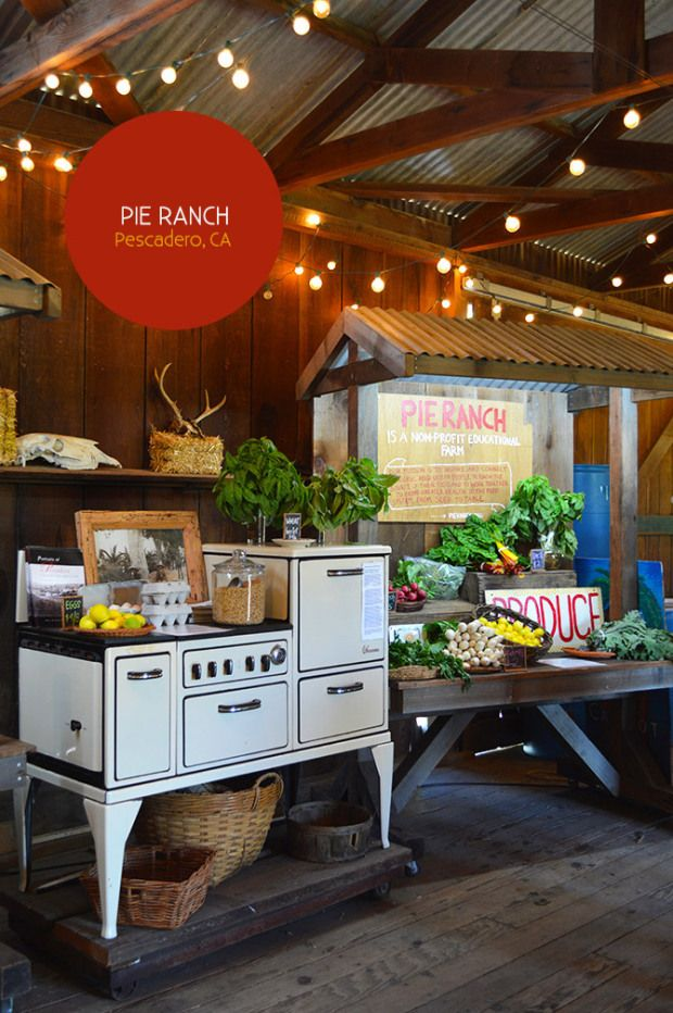 Pie Ranch, Pescadero, CA.  Stopped by on a road trip the the kiddos this weekend. They were out of pie, which was sad, but we did buy the BEST organic strawberries.