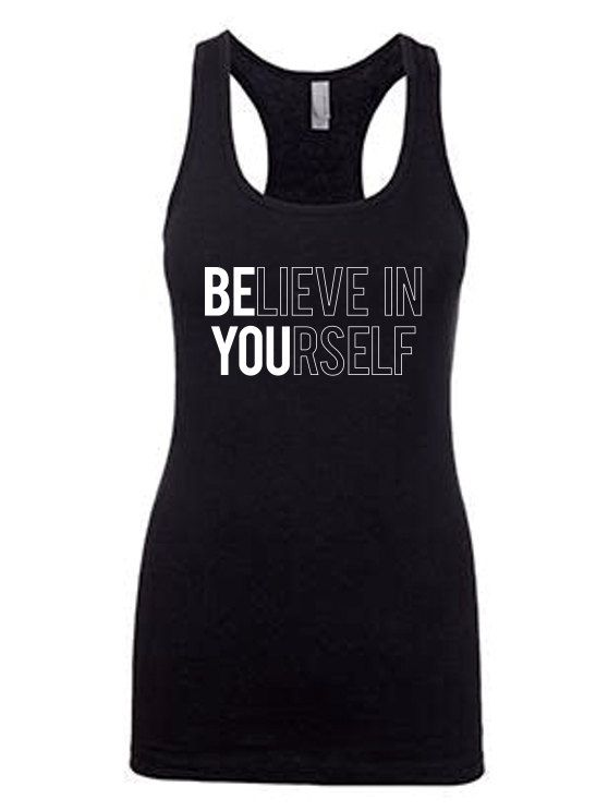 Be You.Women's Workout Tank.RacerBack Tank Top.Fitness Tank .Cross Training Tank.Workout Clothes.Running Tank.Exercise Top.Fitness Apparel by MyFitnessApparel on Etsy