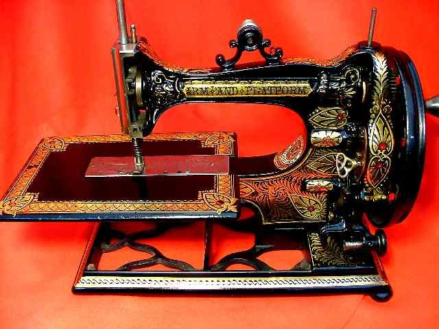 1228 best sewing machines images on pinterest antique sewing wards stunning arm platform is one of the most beautiful sewing machines of the victorian sciox Choice Image