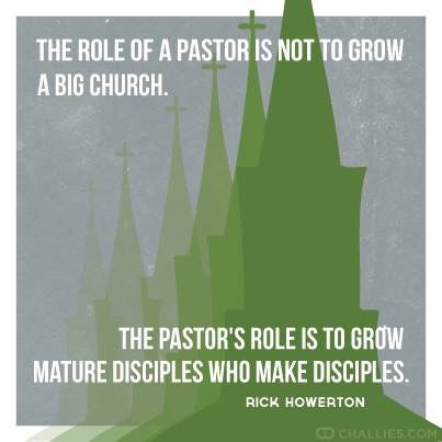 The role of a #pastor - #quote