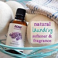 Natural Laundry Fragrance and Softener Traditional dryer sheets and fabric softener are laden with chemicals, some so dangerous they are on the EPA's mo...