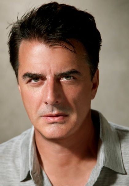 Chris Noth - he looks great since had his eyes done