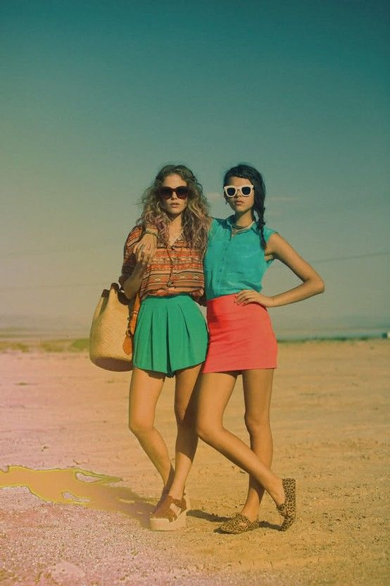 colorfull dayColors Combos, Summer Outfit, Summer Style, Colors Palettes, Music Festivals Fashion, Lf Stores, Summer Colors, Summer Clothing, Bright Colors