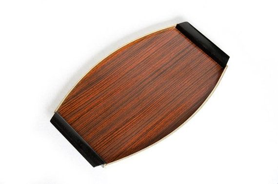 Mid century modern serving tray by VintagefromVenusNL on Etsy