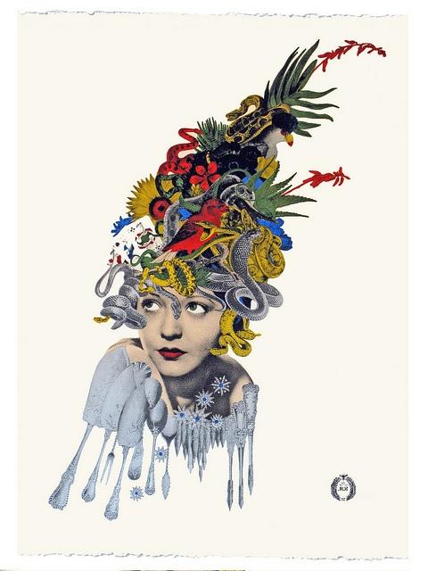 Maria Rivans – Medusa LE Screen print, by Eye magazine, via Flickr