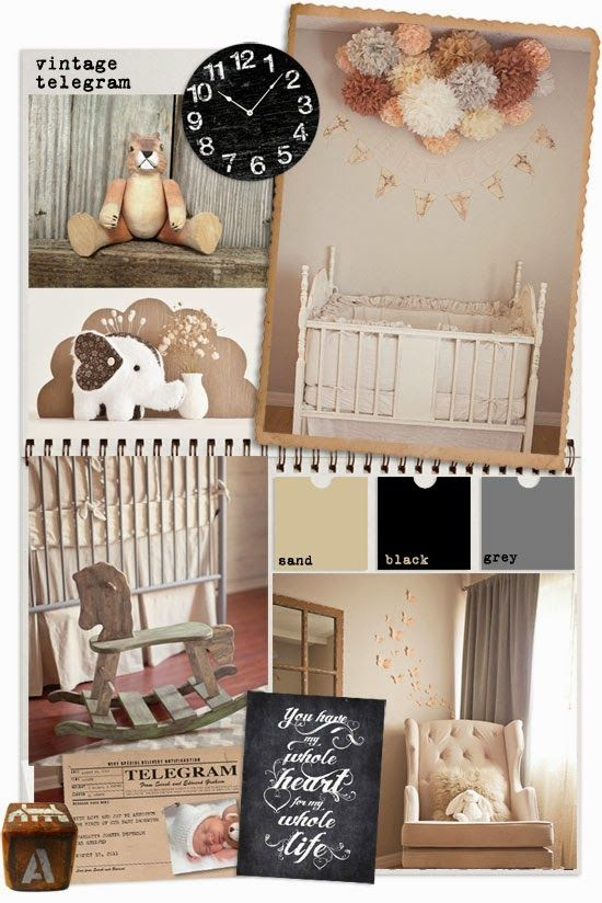 55 best nurserys images on pinterest infant art kid bedrooms and i do it yourself rustic 1920s nursery solutioingenieria Images