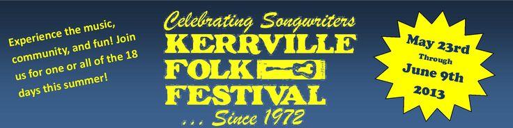 Kerrville Festivals