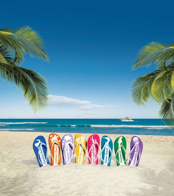 What is your beach personality? Choose among 8 distinct beaches from Hallandale Beach/Hollywood to Pompano Beach and Deerfield Beach.