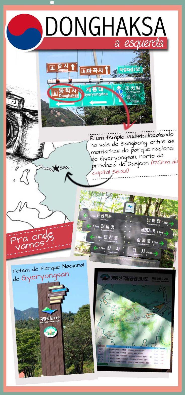 Coréia do Sul - Donghaksa #viagem #coreiadosul #coreia #donghaksa #daejeon #benditainspiracao #benditablog