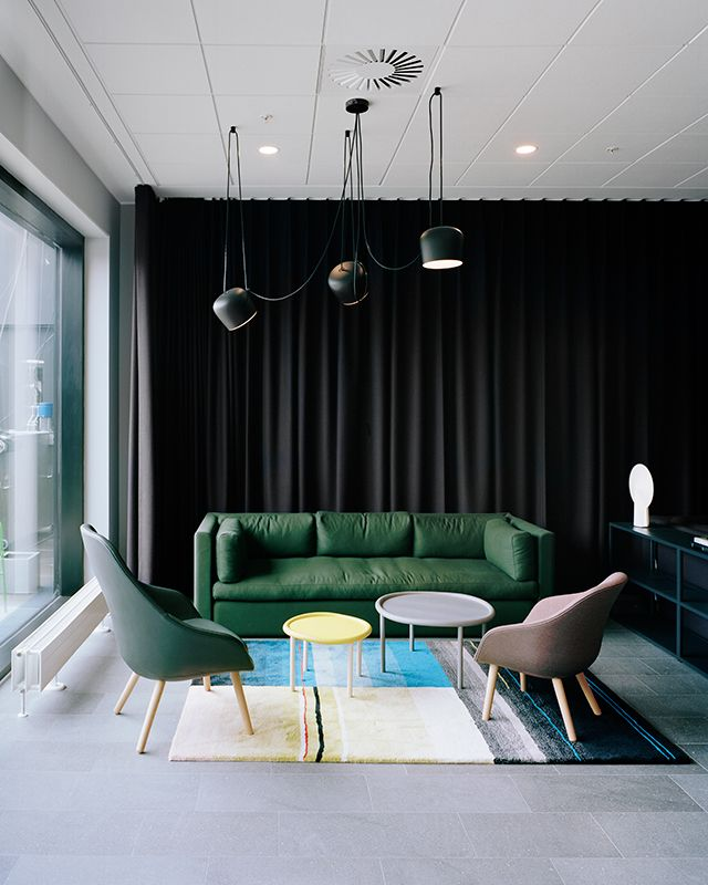 About A Lounge, Hackney Sofa, Serve Tables, Colour Carpet S&B | HAY www.hay-amsterdam.com