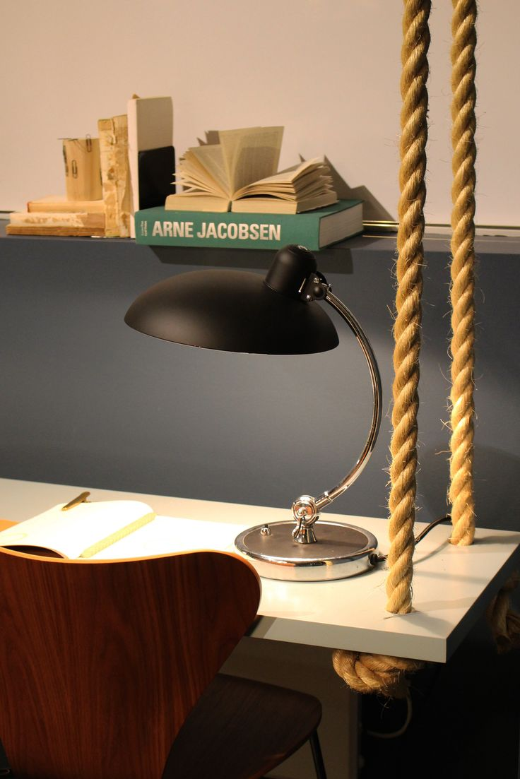 Cult | Sydney showroom featuring Series 7 chair and Kaiser Idell desk lamp, both from Fritz Hansen.