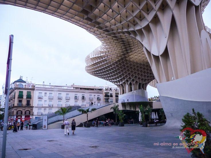 Las Setas de la Encarnación. Sevilla, Andalucía, España.