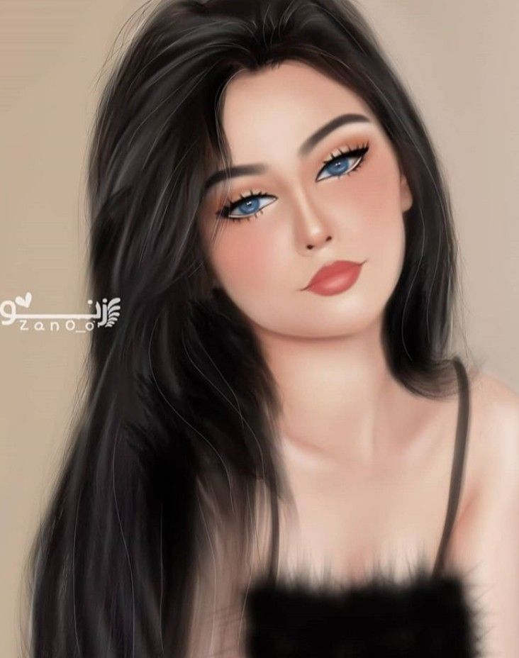 Pin By Sem Sema On Digital Art Beautiful Girl Drawing Cute Couple Sketches Girly Pictures