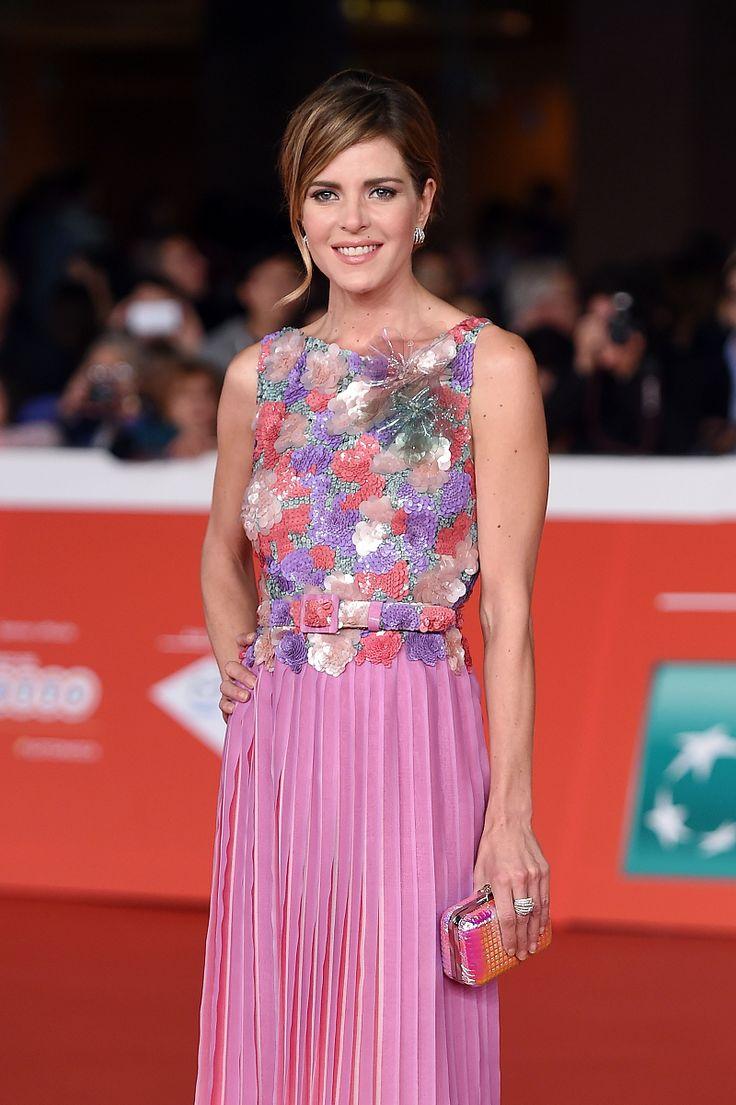 Enchanting Elisabetta Pellini during the 9th Rome Film Festival