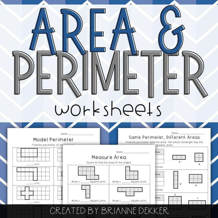 area and perimeter worksheets grade 7 pdf