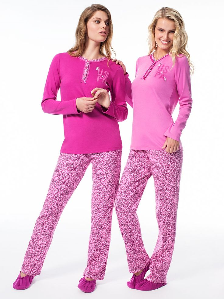 US Polo 15512 Bayan Patlı Pijama Takım    Mark-ha.com #markhacom #pijama #fashion #newseason #moda #trend #yenisezon #uspolo