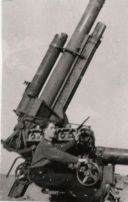 Vejprnice, Vejprnice, flak německé armády