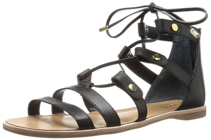 Franco Sarto Women's L-Baxter Gladiator Sandal * Tried it! Love it! Click the image. - Gladiator sandals