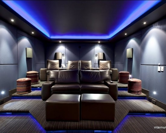 This would be Kevin's ideal media room…..I don't think so. LOL