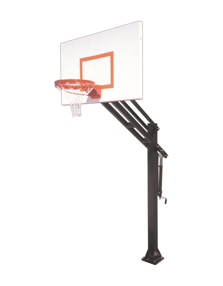 First Team Force Endura In Ground Outdoor Adjustable Basketball Hoop 60 inch Aluminum from NJ Swingsets