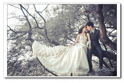韓風婚紗照片