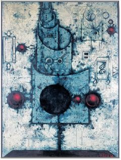 Mikuláš Medek - The table of towers architect. #art #painting #Czechia
