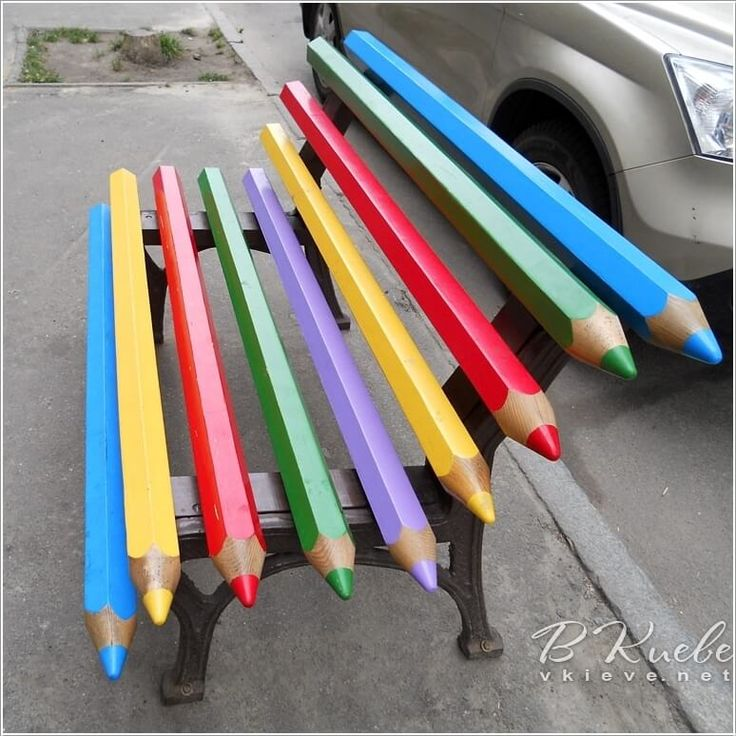 10 Cool Color Pencil Inspired Home Decor Ideas