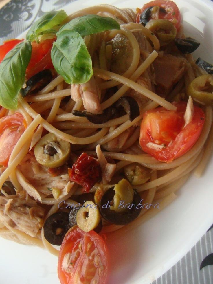 Cucina di Barbara: Ricetta Pasta Mediterranea
