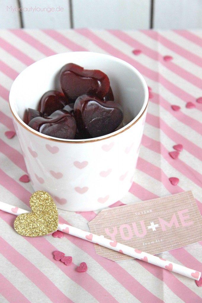 selbstgemachte Gummibärchen Rezept {vegan} | vegan homemade gummibears recipe | mybeautylounge.de