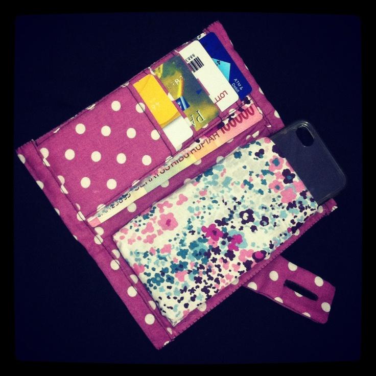 Simple wallet - inside By Zenia