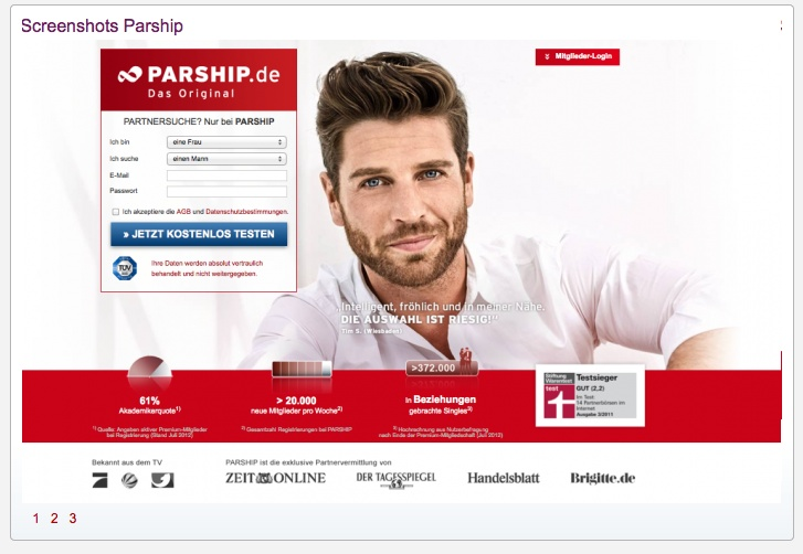 parship test singlebörsen test 2015