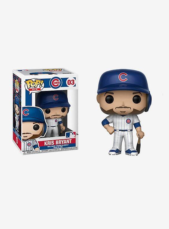 09ad390d067 Funko Chicago Cubs Pop! MLB Kris Bryant Vinyl Figure
